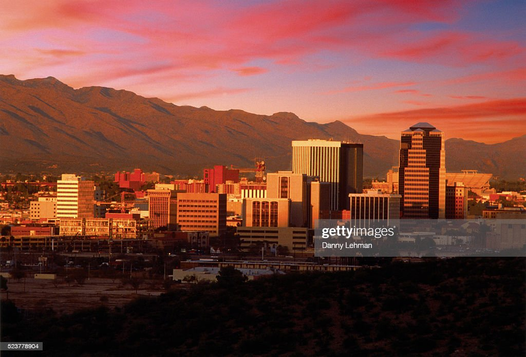 City of Tucson : Foto de stock