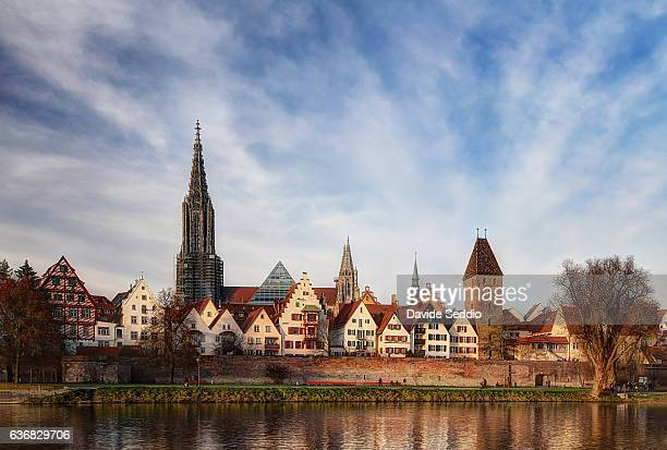 city of ulm, germany - ulm stock pictures, royalty-free photos & images