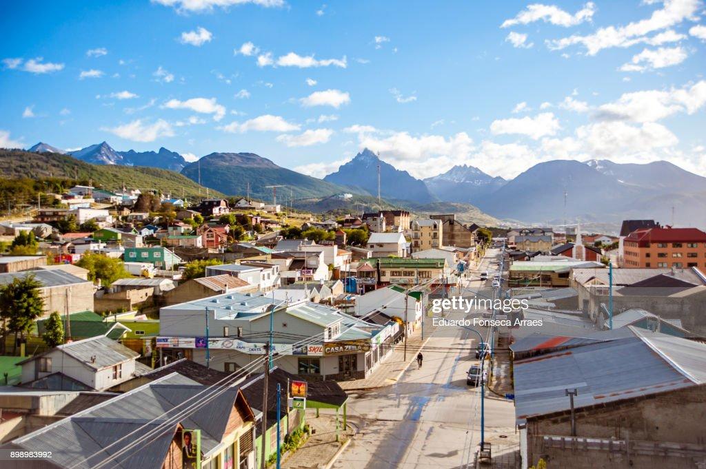 City of Ushuaia : Stock Photo