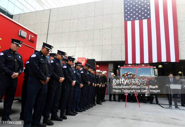 City officials employees fire and police personnel along with members of the community gathered in remembrance of the tragic events of September 11...