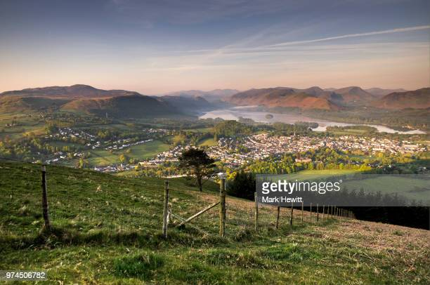 City over the lake, Keswick, UK