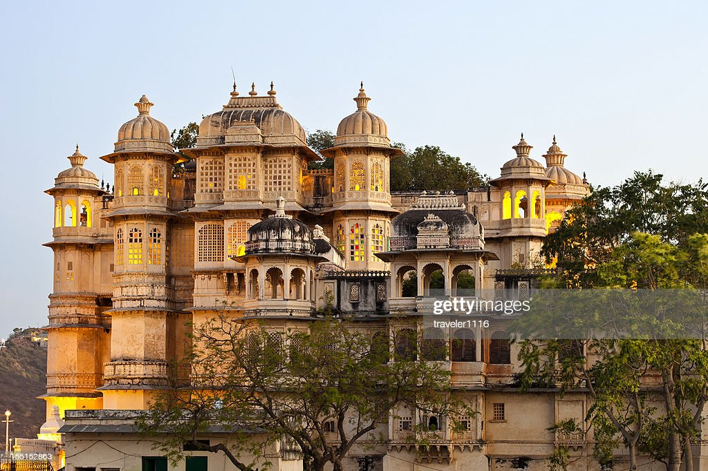 City Palace In Udaipur, India : Stock Photo