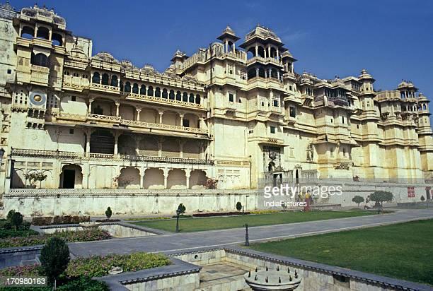 City palace of Udaipur Rajasthan India