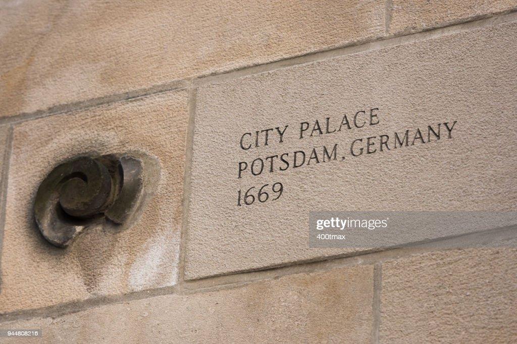 City Palace : Stock Photo