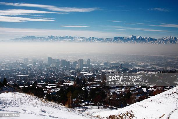 city - salt lake city stock pictures, royalty-free photos & images