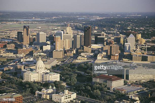 city - st. paul minnesota stock pictures, royalty-free photos & images