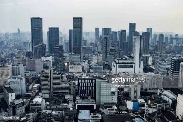 city - chengdu stock pictures, royalty-free photos & images