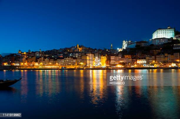City Porto at Rio Douro. The old town is listed as UNESCO world heritage. Portugal. Europe.
