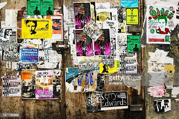 街のポスター