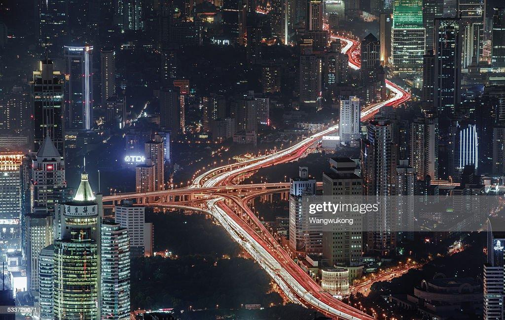 city pulse : Foto stock