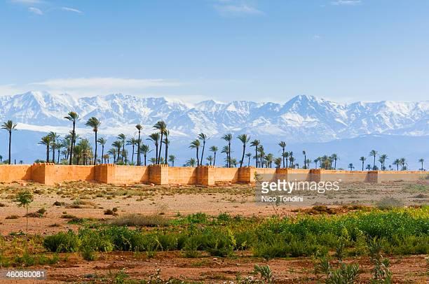 City Ramparts, High Atlas, Marrakech