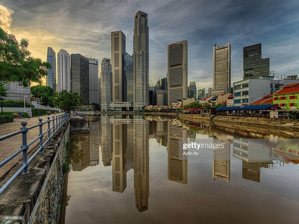 City Reflecion : Stock Photo