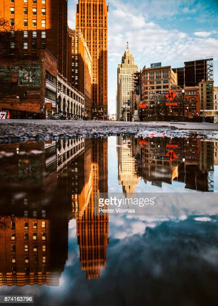 City reflections - Detroit