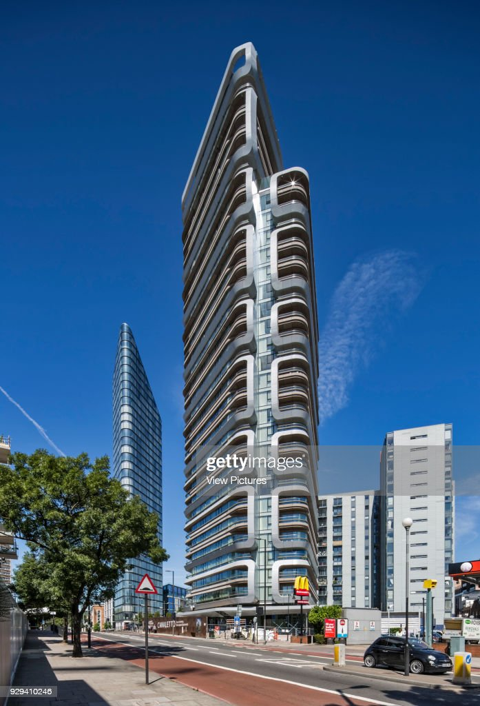 Cetto Apartments London United Kingdom Architect Unstudio 2017 City Road Elevation