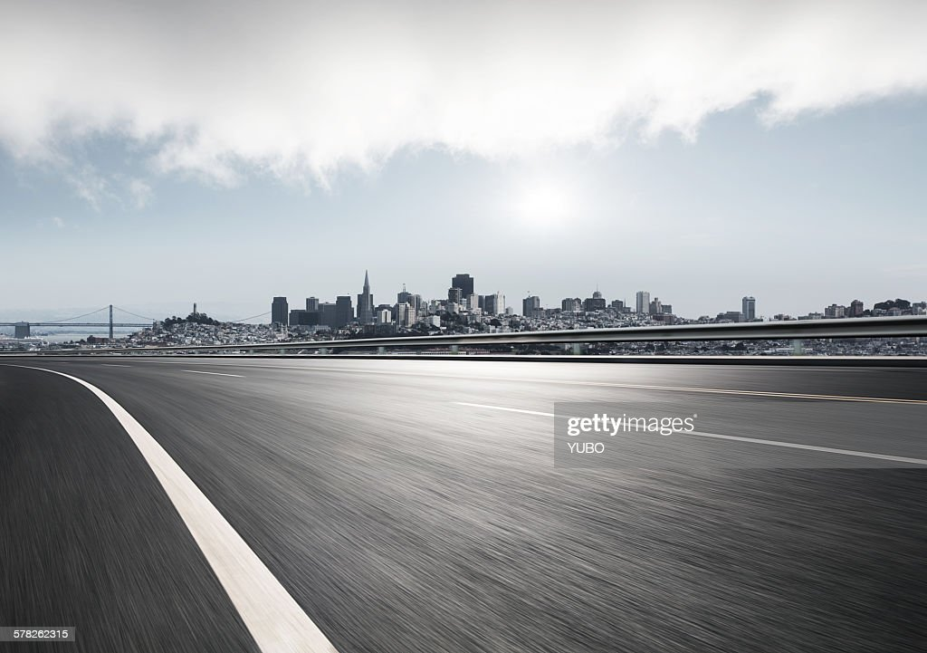 City road : Stock Photo