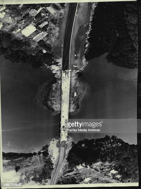 City roadworksSalt Pan Creek bridge between Padstow and Peakhurst August 26 1964