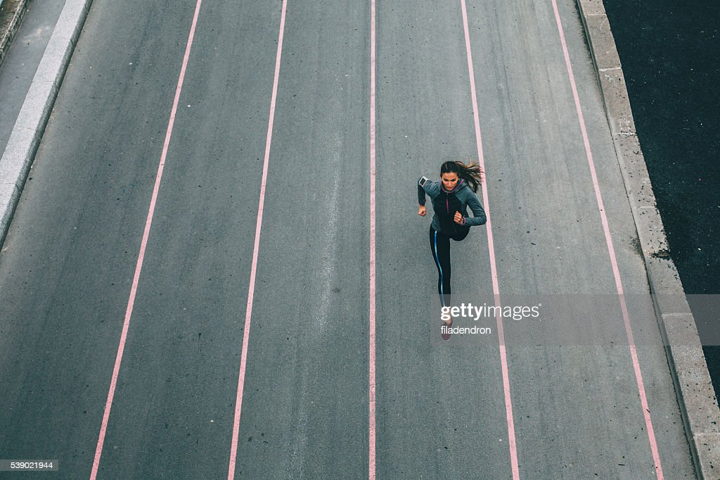City Running : Stock Photo
