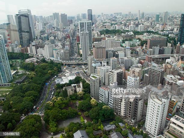 City scape of Tokyo, Japan