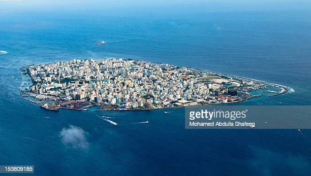city scape - male maldives stock pictures, royalty-free photos & images