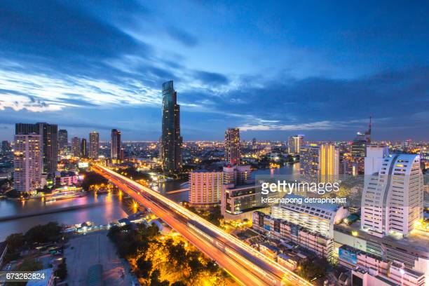 City scapes in bangkok.,controlled-access highway,