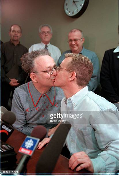 City seeks court direction re samesex spouses Presser Players are Michael Leshner and Michael Stark They had gone to the City to force the issue of a...