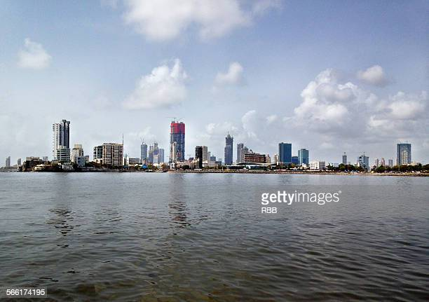City Skyline at Worli-Mumbai