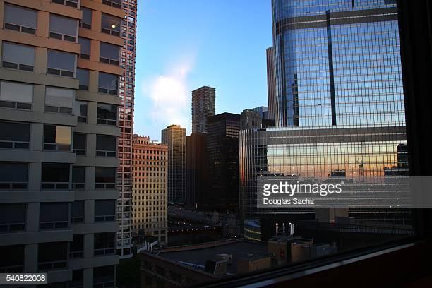 City skyline, Chicago, Illinois, USA