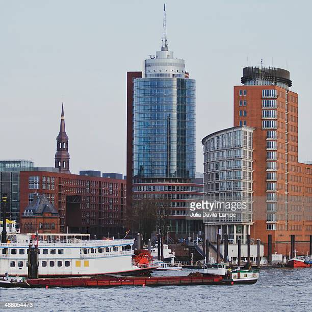 City skyline, Hamburg, Germany