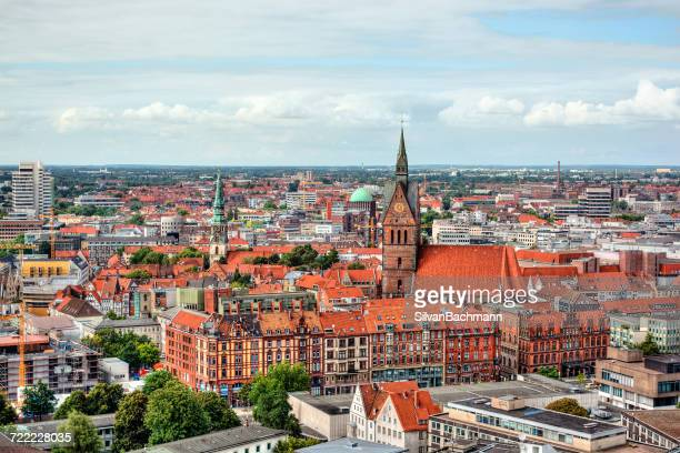 City skyline, Hanover, Germany