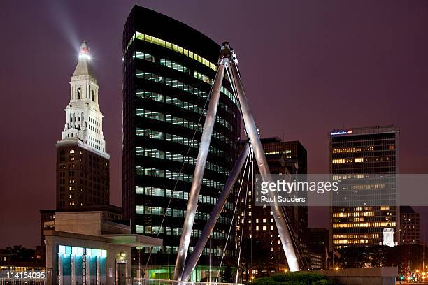 City Skyline, Hartford, Connecticut