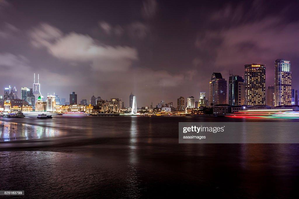 City Skyline Huangpu Stock Photo