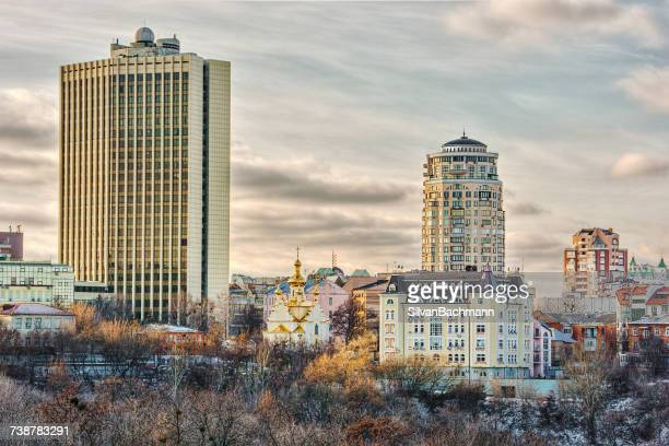 City skyline, Kiev, Ukraine