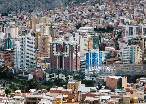 City skyline, La Paz, Bolivia