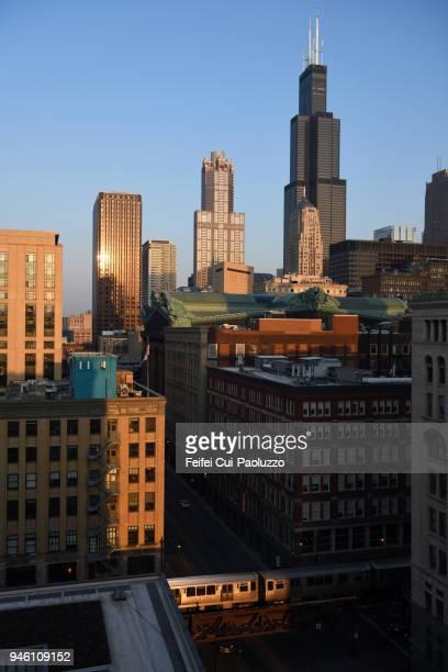 City skyline of Chicago, Illinois, USA
