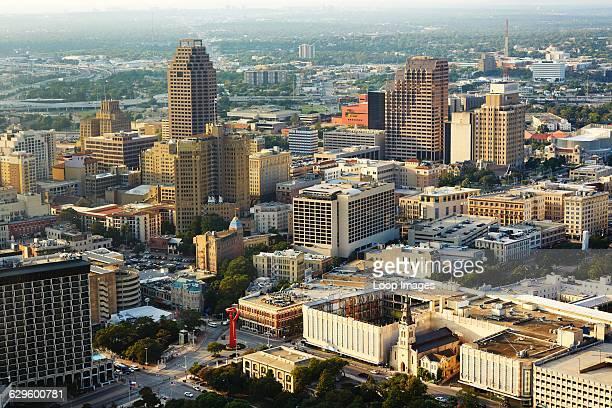 City skyline of San Antonio San Antonio America