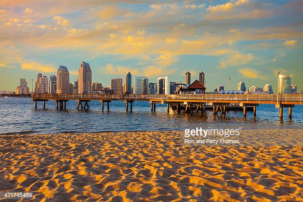 City Skyline Of San Diego, California
