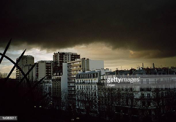 City skyline, Paris, France