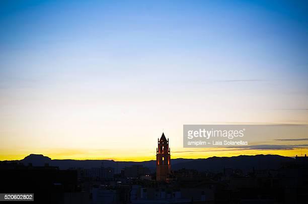 city skyline - reus spain ストックフォトと画像