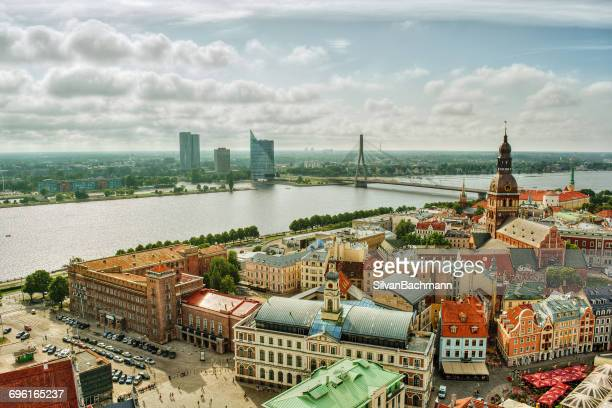 City skyline, Riga, Latvia
