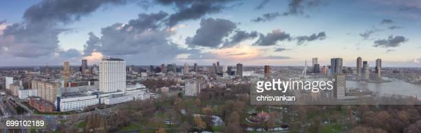 City skyline, Rotterdam, Holland