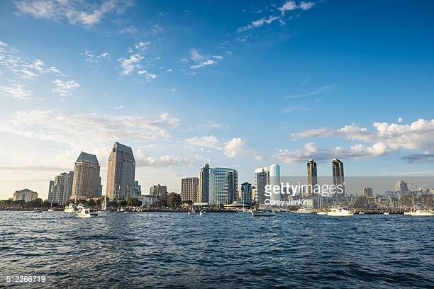 City skyline, San Diego, California, USA