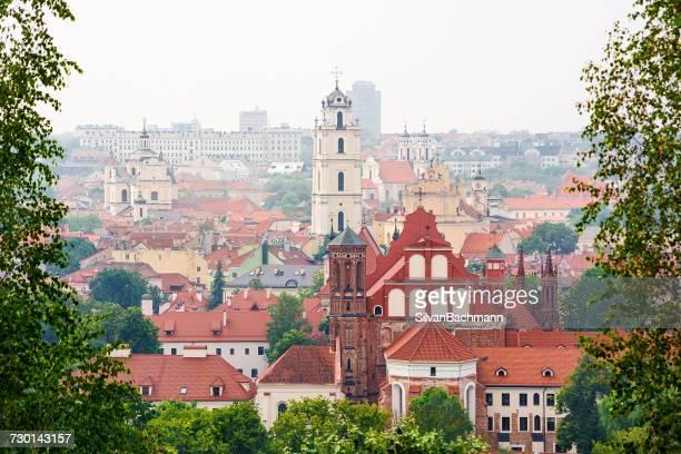 City skyline, Vilnius, Lithuania