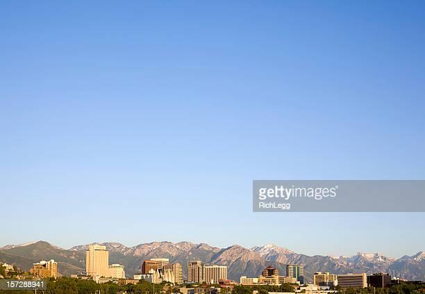 City Skyline with LOTS of Sky