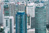 makati skyline manila philippines