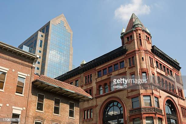 City Skyline with Old and New Architecture, Louisville, Kentucky