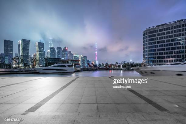 city square by port,shanghai - moored stock pictures, royalty-free photos & images