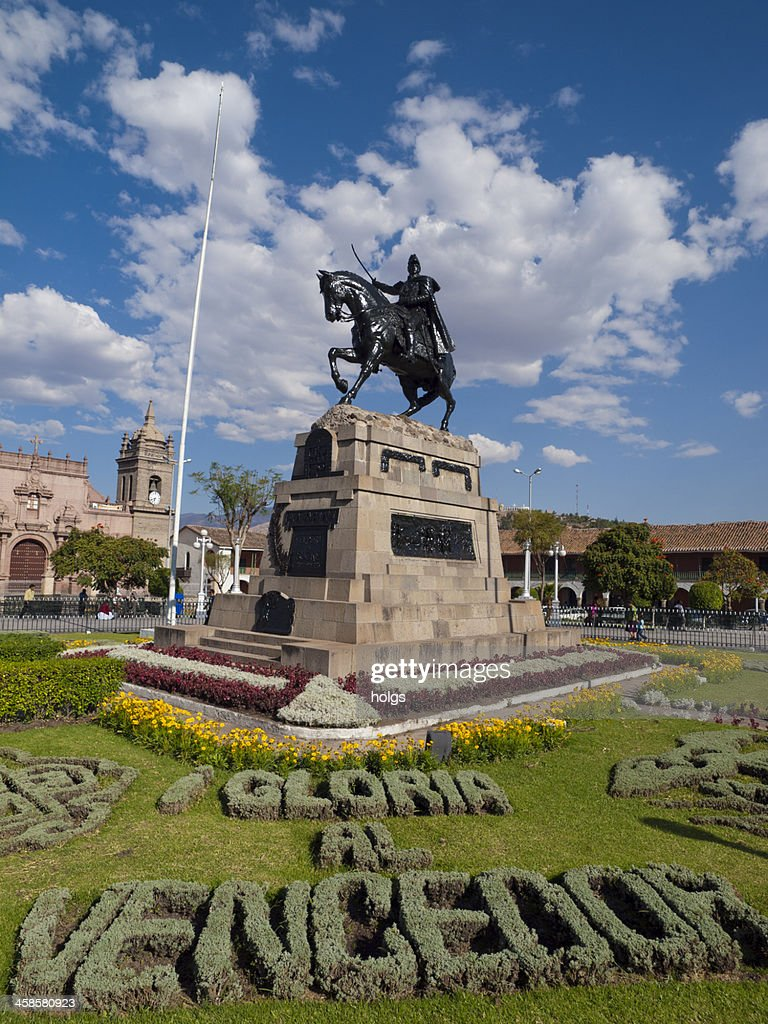 City Square in Ayacucho, Peru : Stock Photo