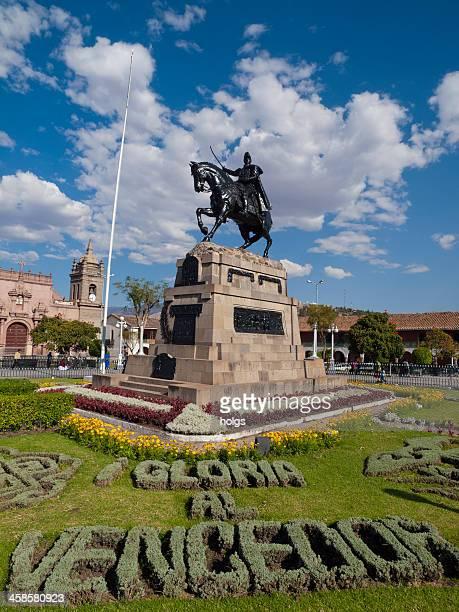 City Square in Ayacucho, Peru