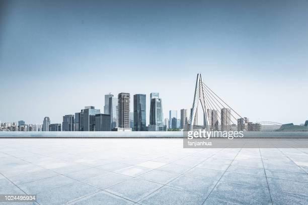 city square,chongqing - skyline foto e immagini stock