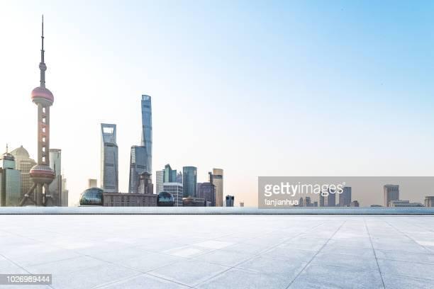 city square,shanghai - pudong - fotografias e filmes do acervo